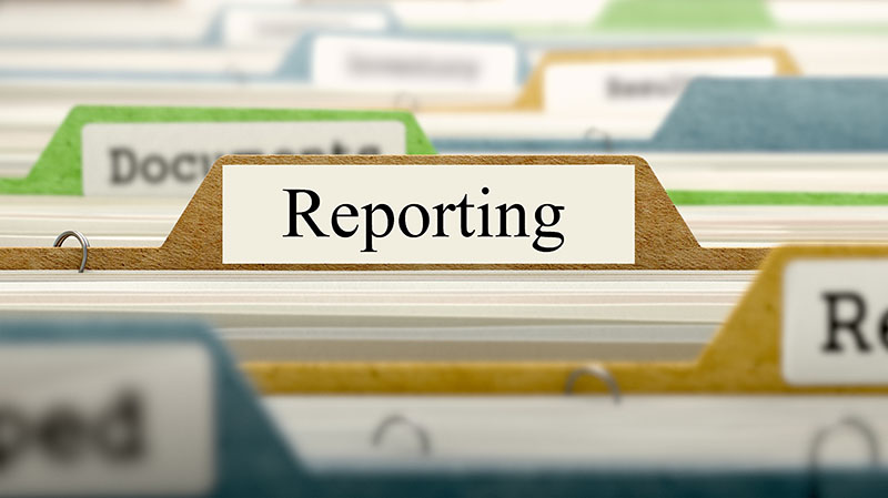 Outsource financial reporting services