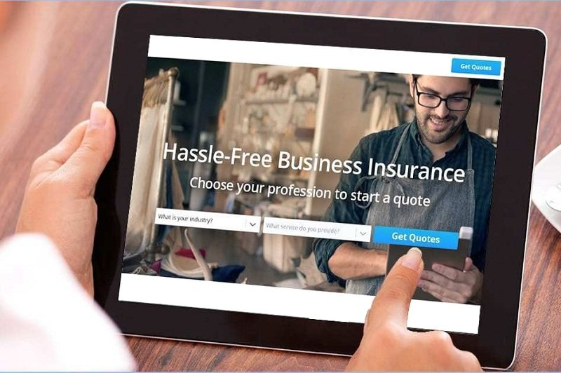 Get a quote for Small business insurance