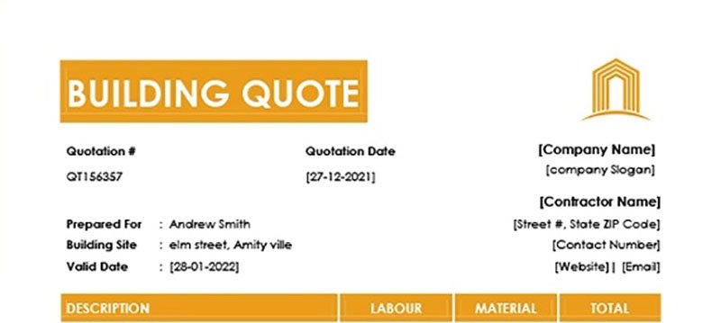 How to make an quote using the quote generator
